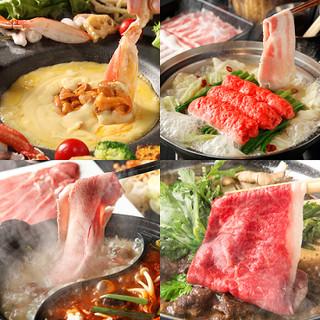 無限大のアイデアで食材の旨味を引き出す!名物「鍋料理」!