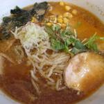 麺や 陽風 - 味噌ラーメン720円。                   28.1.20