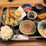 46625400 - 天麩羅定食 1,100円