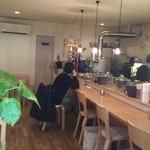 喫茶ハレの日 - お洒落で落ち着きのある店内