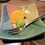 芳べえ - 食後のデザート2015.11.30