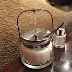 朝日珈琲サロン - ガラス製の容器の砂糖