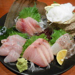 えぼし - 料理写真:2016.1:海鮮刺身盛合せ
