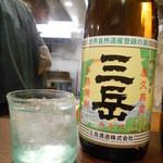 ヌードルワークス - 2016.1:焼酎(三岳)