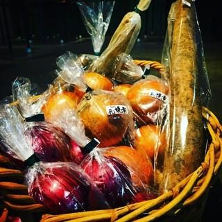 野菜ソムリエ・中出さんのお野菜たち