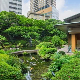 四季折々の風情が楽しめる美しい日本庭園