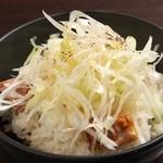 J-LOW麺 - ネギチャー丼 250円