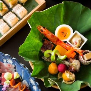 四季の巡りと共に日本料理の粋をご堪能ください