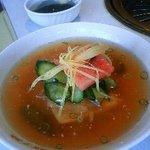 食道園 - 冷麺(石焼きビピンバと冷麺のセット分)