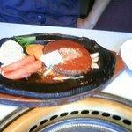 食道園 - ハンバーグ定食 ①