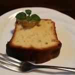 46631414 - 柚子のパウンドケーキ
