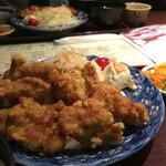 海鮮すなおや食堂 - からあげ定食
