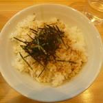 麺屋ブーブーモンスター - 替えめし