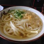 千ちゃん - 料理写真:かけうどん1玉 あつあつ(*´д`*)200円