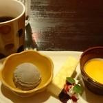 スパイシーマーケット - デザートセット 380円(税別) (食事注文時)