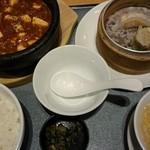 喜神菜館 - 石焼陳麻婆豆腐定食♪