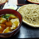 46639693 - 肉盛り蕎麦(850円)