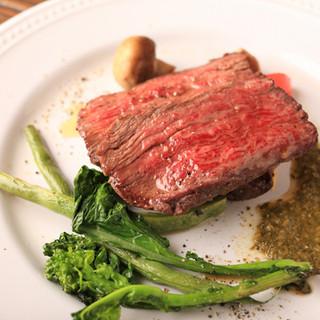 本格的な肉料理