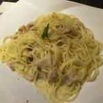 極 goku - 豚肉のクリームパスタ