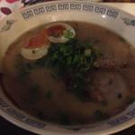 RYU麺 - 店内暗い