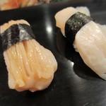寿司幸 - みる貝とたいらぎ