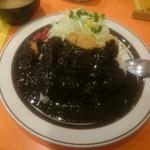 キッチンABC - 黒カレー。私的には合わず。。