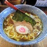 担々麺屋 炎 - 醤油らー麵(大盛り)2016.01.20