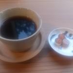 46651211 - コーヒー。。。焼きもろこしがついてきて嬉しい。。。