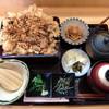 藤 - 料理写真:201601 かき揚げひつまぶし膳 850円