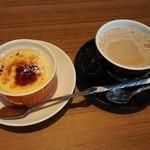 エリーゼキッチン - クリームブリュレとカフェオレ