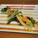 エリーゼキッチン - 前菜サラダ