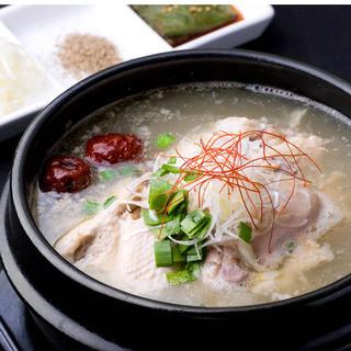 まだん自家製参鶏湯(サムゲタン)は美容&健康に◎