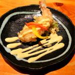 相撲茶屋 玄海 - コースの海老マヨ