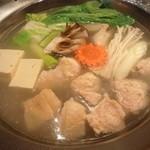菜な - 天草大王の水炊き