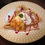 クレープリー 京都シャンデレール - 本日のクレープ(柑橘フルーツとクリームチーズソース)