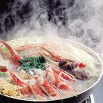 北海道かに将軍 - 料理写真:当店独自の味付けをしたおだしで召し上がっていただく   鍋料理。