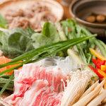 ディスク - 豚梅シャブ 〆は蕎麦シャブで ランチコース4名様~12名様 2500円~