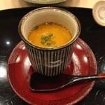 鮨 田なべ - 茶碗蒸し