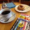 水車 - 料理写真:コーヒーとドーナツ
