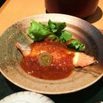 北浜の和がや - 鮭チーズ焼