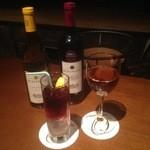 MAGIC TOKYO O - グラスワインからワインベースのカクテルまで幅広く提供しております。