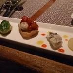 46663686 - 牡蠣前菜5種 750円
