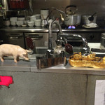 まんてん - 豚の置物