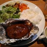 Wine Dining グジェール - 木曜ランチ(ハンバーグホイル焼) (11)