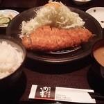 富山豚食堂 かつたま - ロースカツ