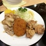 下町食堂中村橋 - 16.1.19ボリューム定食