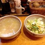 キッチン・オバサン - スープとサラダ