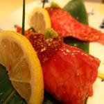 ワインバル ロゼッタ - ロゼッタ一番人気!! 神戸牛のにぎり寿司