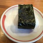 麺家 喜多楽 - おにぎり       昆布