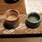 旬魚季菜 とと桜 - 飲み比べセット